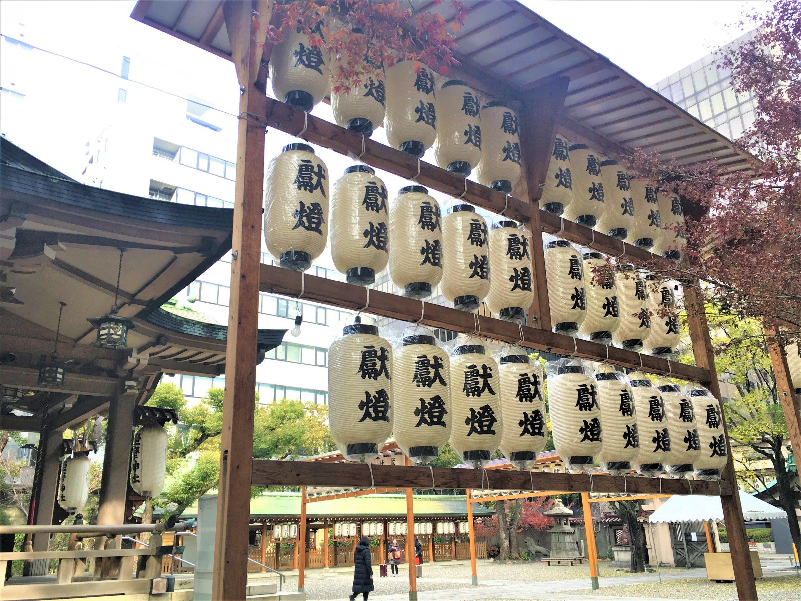 坐間神社の祭り
