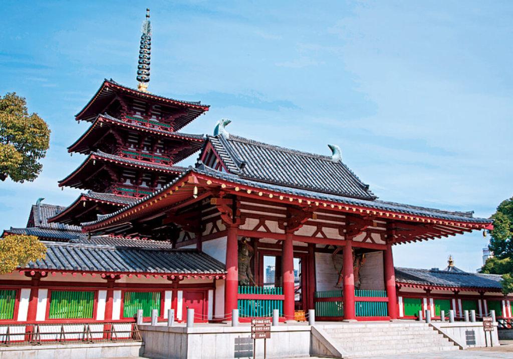 堀越神社は聖徳太子が建立した