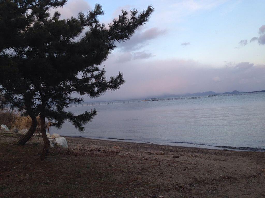 今宿浜水泳場【大津市】
