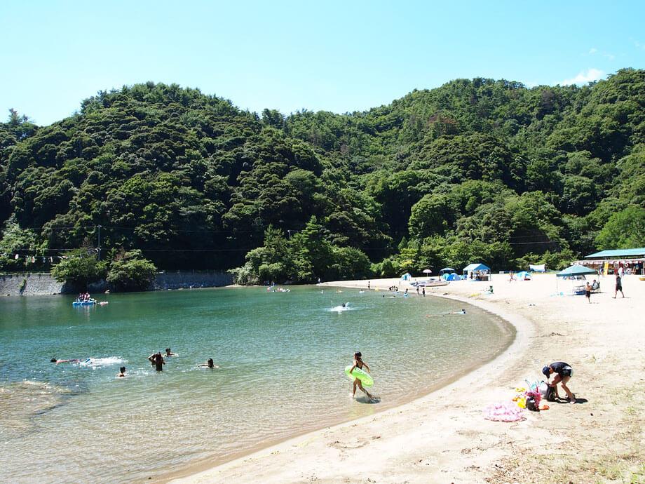 三田浜海水浴場【美方郡香美町】