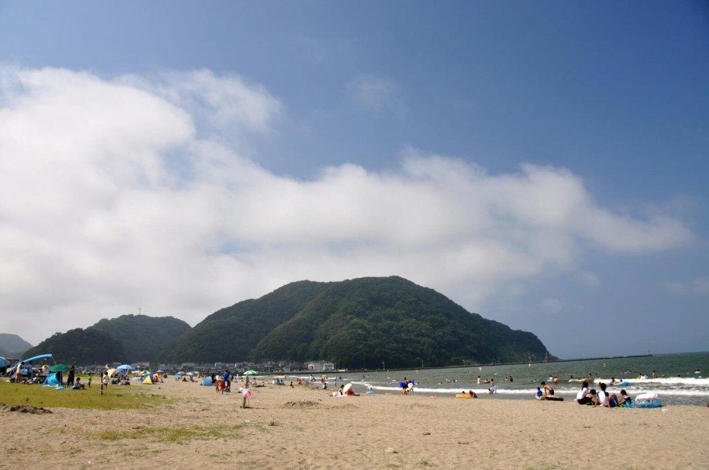 気比の浜海水浴場【豊岡市】