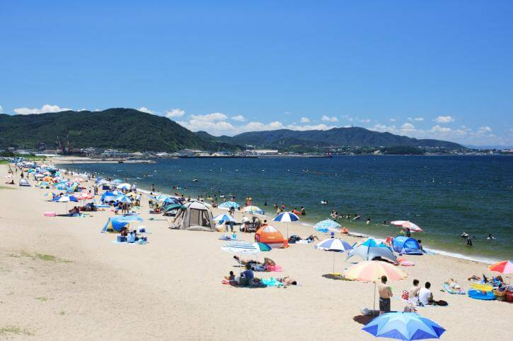 慶野松原海水浴場【南あわじ市】