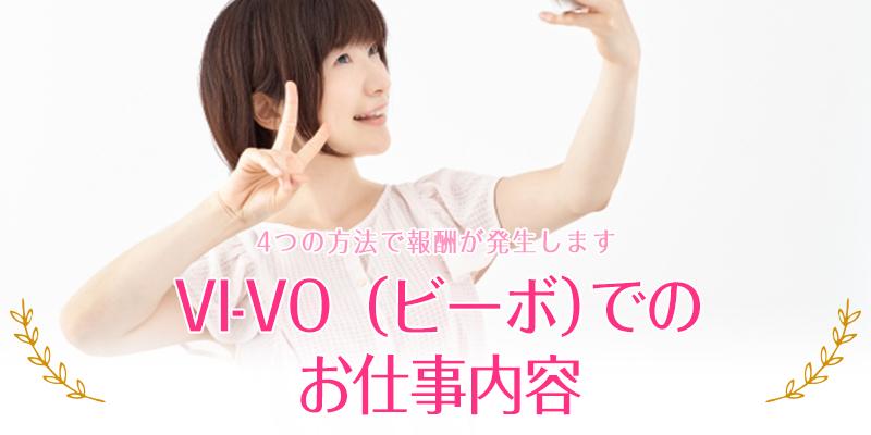 VI-VO(ビーボ)でのお仕事内容